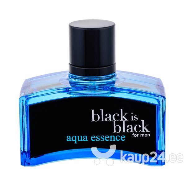 Tualettvesi Nuparfums Black is Black Aqua Essence EDT meestele 100 ml