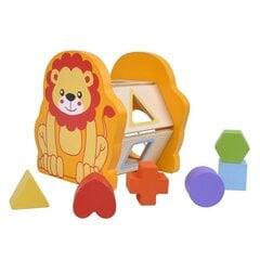 Puidust sorteerija Smiki Lõvi hind ja info | Imikute mänguasjad | kaup24.ee