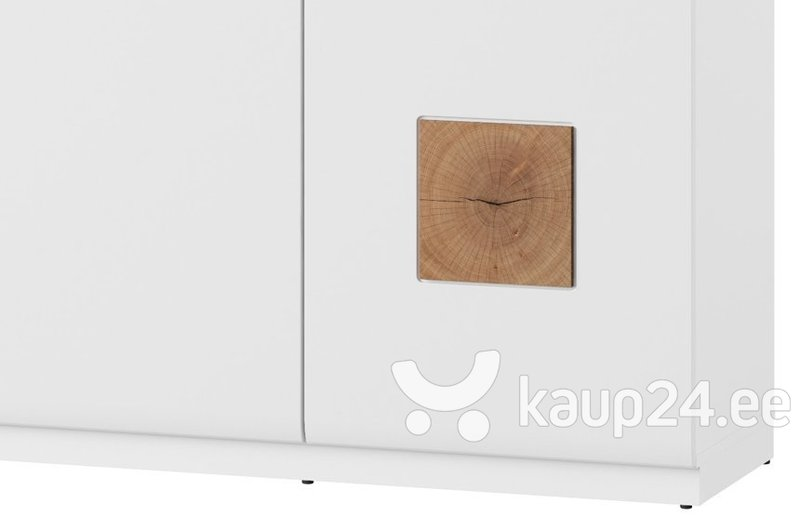 Kapp Wood 45, pruun/valge