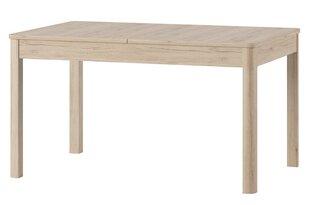 Выдвижной стол Desjo 42, коричневый цена и информация | Столы, стулья | kaup24.ee