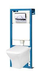 Varjatud WC komplekt Kerra Sylvia hind ja info | WС-potid | kaup24.ee