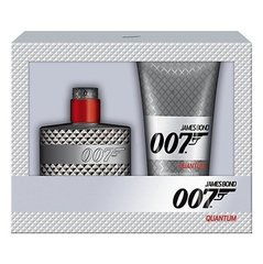 Komplekt James Bond 007 Quantum: EDT meestele 50 ml + dušigeel 150 ml