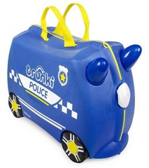 Laste kohver Trunki Percy Police car