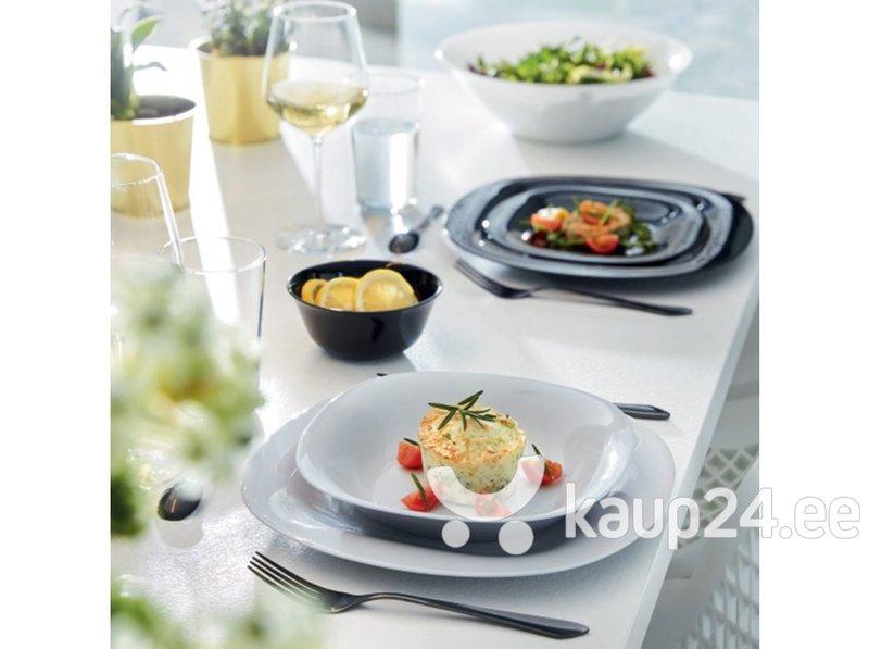 Õhtusöögiserviis Luminarc Carine Grey White, 18-osaline цена