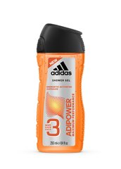Dušigeel Adidas AdiPower 3in1 250 ml