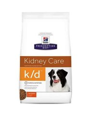 Kuivtoit koertele Hill's Prescription Diet k/d Canine, 12 kg
