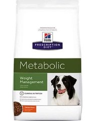 Kuivtoit koertele Hill's Prescription Diet Canine Metabolic, 4 kg