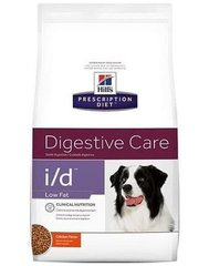 Kuivtoit koertele Hill's Prescription Diet i/d Canine Low Fat, 12 kg