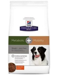 Kuivtoit koertele Hill's Prescription Diet Canine Metabolic + Mobility, 12 kg