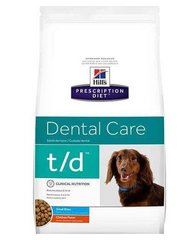 Kuivtoit koertele Hill's Prescription Diet t/d Canine Mini, 3 kg