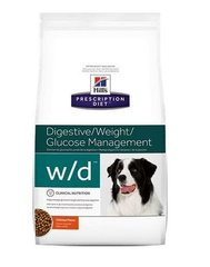 Kuivtoit koertele Hill's Prescription Diet w/d Canine, 4 kg