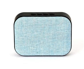 Omega OG58BL Bluetooth 4.1 Wireless Speaker with FM Radio / Handsfree / MicroSD / USB / 3W / Blue hind ja info | Omega OG58BL Bluetooth 4.1 Wireless Speaker with FM Radio / Handsfree / MicroSD / USB / 3W / Blue | kaup24.ee