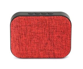 Omega OG58R Bluetooth 4.1 Wireless Speaker with FM Radio / Handsfree / MicroSD / USB / 3W / Red hind ja info | Omega OG58R Bluetooth 4.1 Wireless Speaker with FM Radio / Handsfree / MicroSD / USB / 3W / Red | kaup24.ee