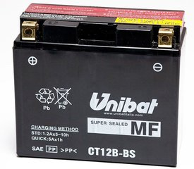 Аккумулятор Unibat 12V 11AH +- 180A