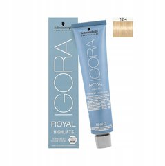 Краска для волос Schwarzkopf Professional Igora Royal Highlifts 60 мл, 12-4 Special Blonde Beige
