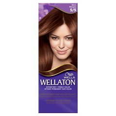 Краска для волос Wella Wellaton Intense Permanent Color 5/5 Mahogany 100 г
