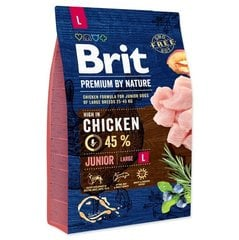 BRIT Premium By Nature Junior Large L, 15 kg