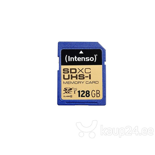 Mälukaart Intenso SDXC UHS-I 128GB CL10