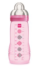 Lutipudel MAM Easy Active 4+ kuud 330 ml, pink