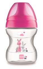 Lutipudel - tass MAM Learn To Drink 6+ kuud 190 ml, pink