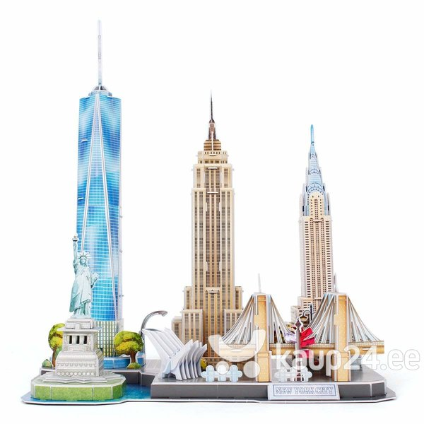 """3D pusle """"New York"""" Cubic Fun, 126 osa tagasiside"""