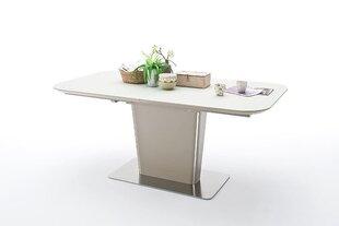 Раздвижной обеденный стол Ubora, 180x95 см, серый цена и информация | Раздвижной обеденный стол Ubora, 180x95 см, серый | kaup24.ee