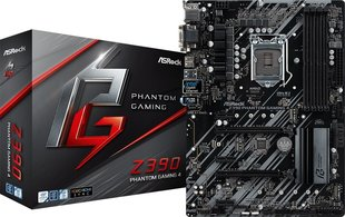 Emaplaat ASRock Z390 PHANTOM GAMING 4