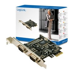 LogiLink 2x Serial to PCIe (PC0031)