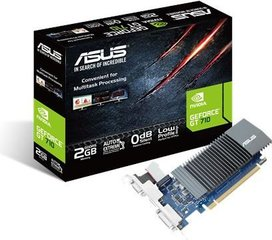 Asus GeForce GT 710 2GB GDDR5 (64 bit) HDMI, DVI, D-Sub, BOX (GT710-SL-2GD5)