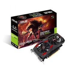 Asus GeForce GTX 1050 Ti Cerberus Advanced Edition 4GB GDDR5 (128 Bit) DVI-D, HDMI, DisplayPort, BOX (CERBERUS-GTX1050TI-A4G)
