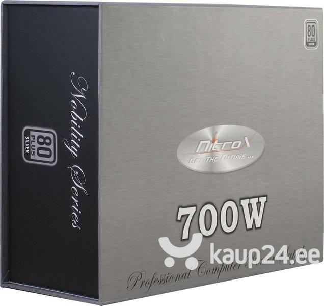 Inter-Tech Coba Nitrox Nobility 700W 80+ SILVER (88882050) soodsam