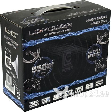 LC-Power LC5550 550W (LC5550 V2.2) hind