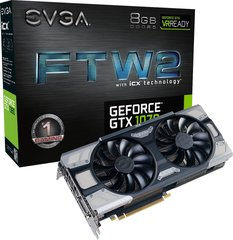 EVGA GeForce GTX 1070 FTW 2 Gaming iCX 8GB GDDR5 (256 Bit) HDMI, DVI-D, 3xDP, BOX (08G-P4-6676-KR)