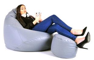 Kott-tool tumbaga Mega Comfort, helehall hind ja info | Kott-toolid, tumbad, järid | kaup24.ee
