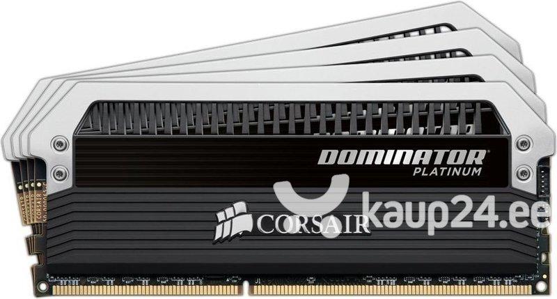 Corsair Dominator Platinum DDR4 4x16GB, 3000MHz, CL15 (CMD64GX4M4C3000C15) soodsam