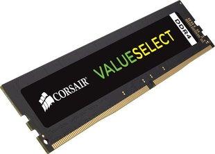 Corsair Value Select DDR4, 4GB, 2666MHz, CL18 (CMV4GX4M1A2666C18) hind ja info | Operatiivmälu (RAM) | kaup24.ee