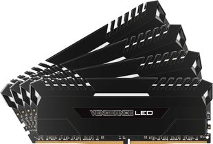Corsair Vengeance LED DDR4, 4x8GB, 3000MHz, CL16, White (CMU32GX4M4C3000C16)