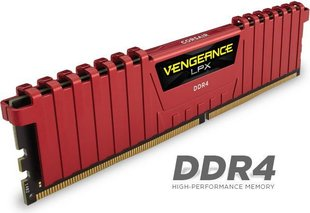 Corsair Vengeance LPX DDR4, 8GB, 2400MHz, CL16 (CMK8GX4M1A2400C16R)