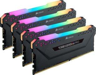Corsair Vengeance RGB Pro DDR4, 4x8GB, 2666MHz, CL16 (CMW32GX4M4A2666C16)