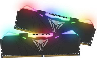 Patriot VIPER RGB DDR4 16GB DUAL KIT (2x8GB) 4133MHz CL19 Black Radiator (PVR416G413C9K)