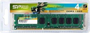 Silicon Power DDR3 4GB 1333MHz CL9 1.5V (SP004GBLTU133N02)