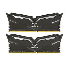Team Group Nighthawk, DDR4, 2x8GB, 3200MHz, CL16, LED Blue (THBD416G3200HC16CDC01)