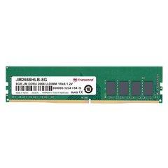 Transcend JM 8GB DDR4 2666 U-DIMM (JM2666HLB-8G) hind ja info | Operatiivmälu (RAM) | kaup24.ee