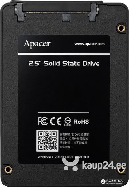 Apacer AS340 Panther 120GB SATA3 (AP120GAS340G-1)