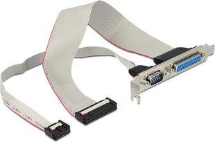 Delock Socket COM 9PIN+ (83445) hind ja info | Lisatarvikud korpustele | kaup24.ee