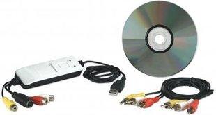 Manhattan Audio/Wideo Grabber USB (162579) hind ja info | TV vastuvõtjad, FM, videokaardid | kaup24.ee