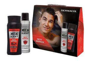 Kehahooldusvahendite komplekt Dermacol Sexy Sixpac: dušigeel 250 ml + spreideodorant 150 ml hind ja info | Kehahooldusvahendite komplekt Dermacol Sexy Sixpac: dušigeel 250 ml + spreideodorant 150 ml | kaup24.ee