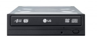LG Internal DVD Optical Drive, Black (GH24NSD1 RBBB)