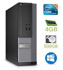 Lauaarvuti Dell 3020 SFF i3-4130 4GB 500GB DVDRW WIN10Pro