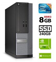 Dell 3020 SFF i3-4130 8GB 240SSD GT730 2GB DVDRW WIN10Pro